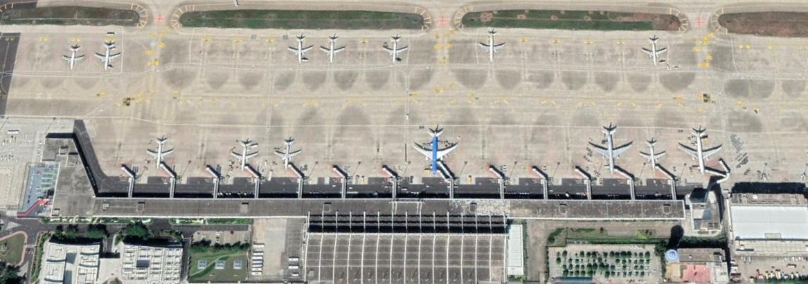 厦门高崎机场现状T3