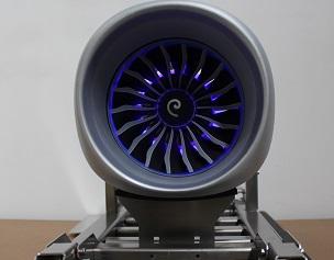 LEAP航空发动机模型风扇机头