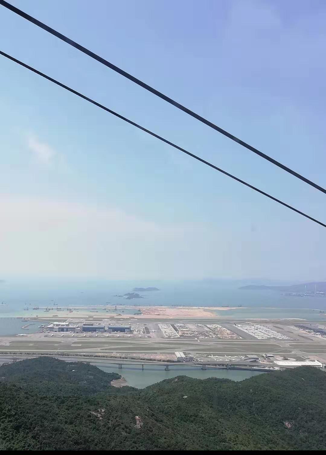 建设中的香港机场第三跑道